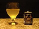 Jones Candy Corn Soda in a glass